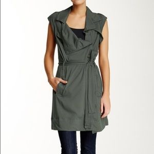 (Love Fire) Olive Green Vest /Dress